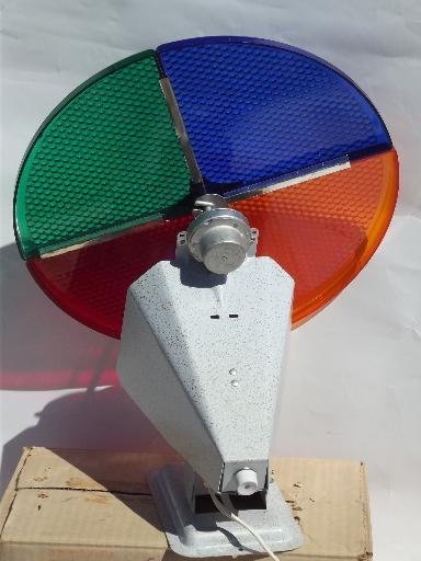 Aluminum Christmas Tree With Color Wheel Light