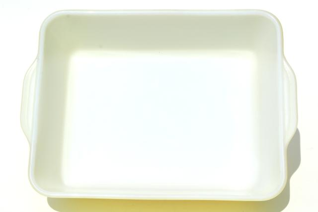 vintage Pyrex fridge dish, primary yellow refrigerator box - no lid