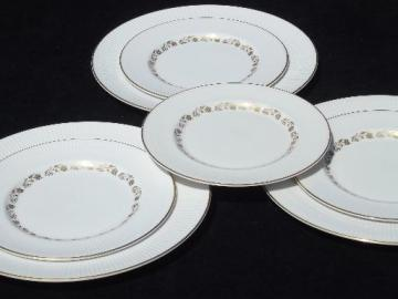 vintage Royal Doulton England china Fairfax dinner and salad plates lot