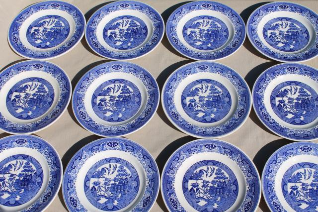 Blue And White Plates blue & white china