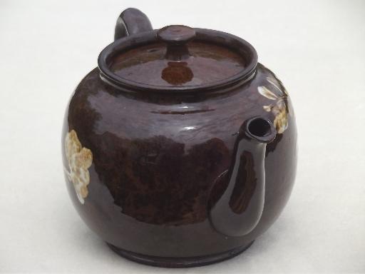 Vintage Sadler Teapot English Pottery Tea Pot W Pressed
