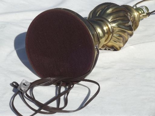 Vintage stiffel solid brass table lamp three way stiffel torch vintage stiffel solid brass table lamp three way stiffel torch flame lamp aloadofball Choice Image