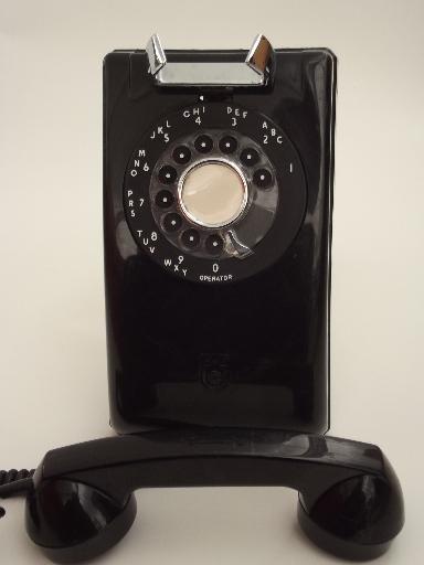 Vintage Stromberg Carlson Rotary Dial Phone Mid Century