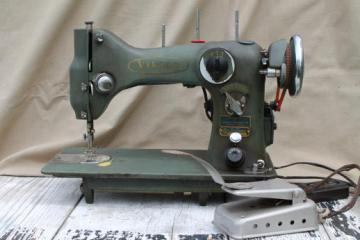 vintage Viking 33-10 sewing machine, Husqverna heavy duty sewing machine Sweden