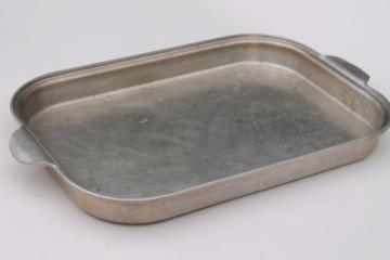 vintage Wear Ever aluminum baking dish / roaster cover for large roasting pan 818 918