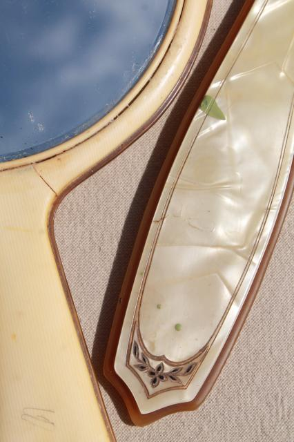 Vintage U0026 Antique Hand Mirrors, Dressing Table Vanity Set Mirror Collection