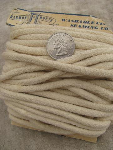 vintage braid trim and edgings, sewing / upholstery / lampshade trims