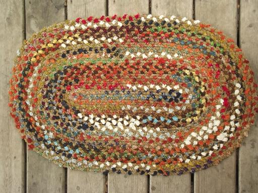 Vintage Braided Rug Lot New Old Stock