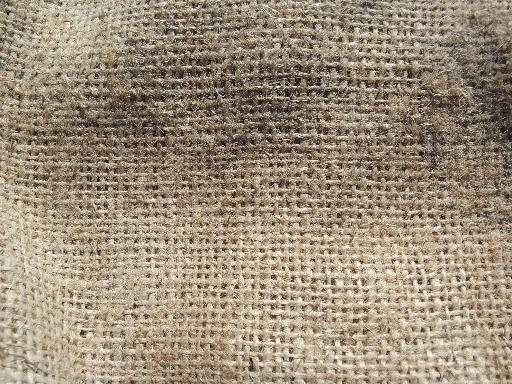 Vintage Burlap Sacks Farm Feed Bags For Primitive Old