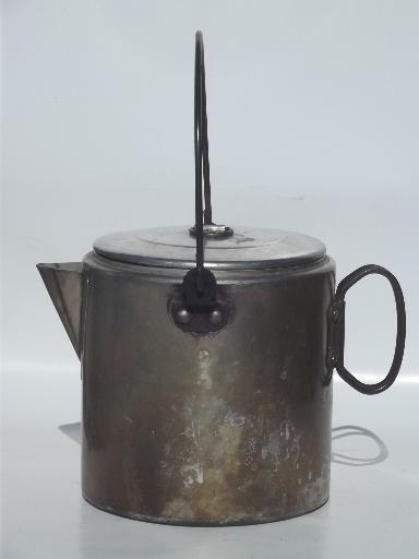 Vintage Campfire Cookware Amp Coffee Pot Set Packable