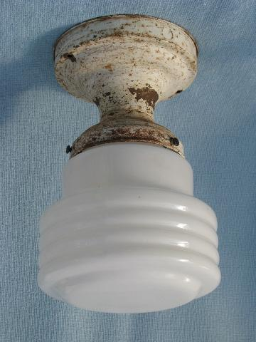 Vintage Ceiling Light Fixtures For Bare Electric Bulbs