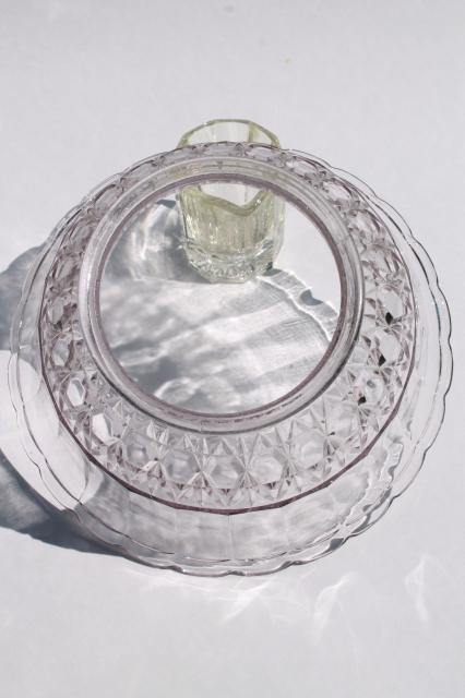 Vintage Clear Glass Lampshade Replacement Shade For