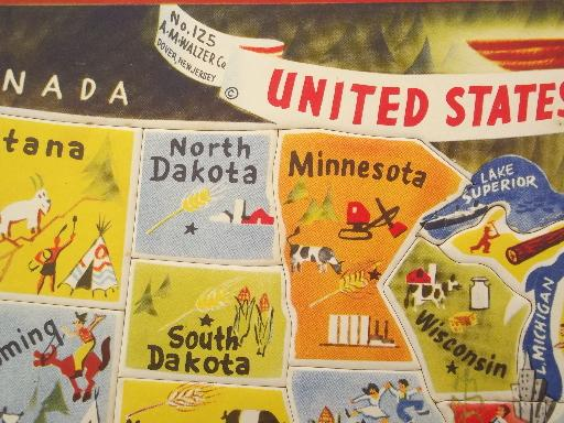 Label States On Us Map Globalinterco - Us map to color and label