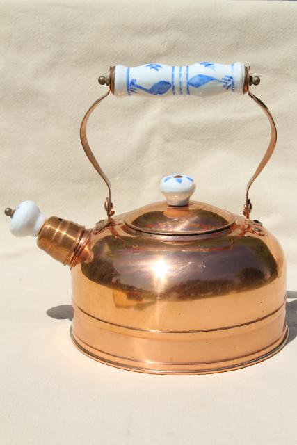 Old Fashioned Copper Kettle