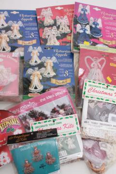 vintage craft kits for tons of beaded angel ornaments, Victorian Christmas angels etc.