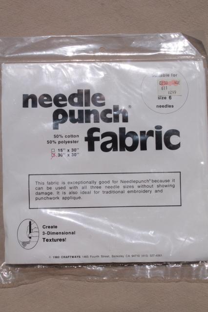 Vintage Craft Supplies Punch Needle Embroidery Tool