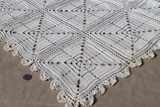 Heavy Crochet Bedspread