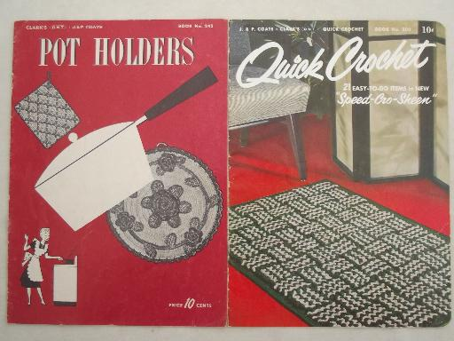 Vintage Crochet Pattern Booklets Star And Coats Clark Books Of