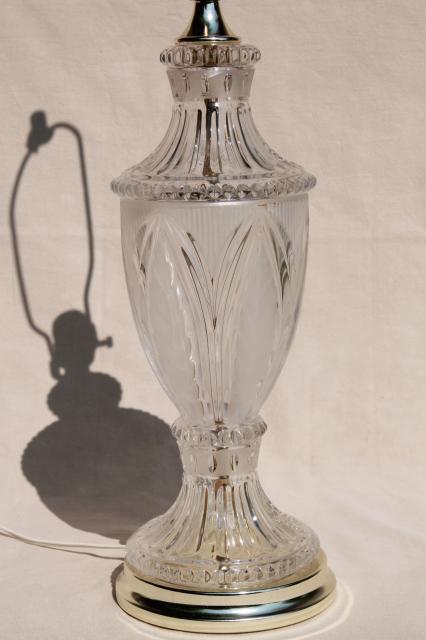 Vintage Crystal Clear European Lead Crystal Brilliant Cut