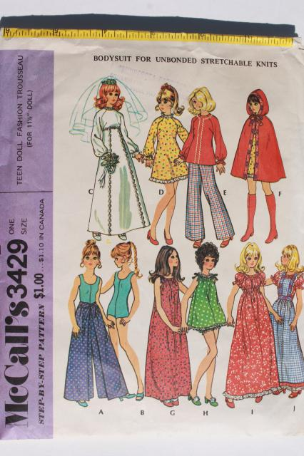 Free Sewing Patterns for Fashion Doll Clothes - The Spruce Crafts 33
