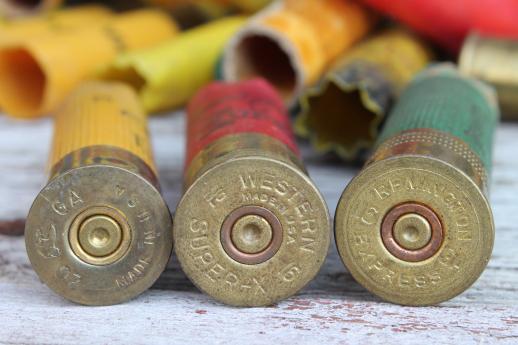 Empty Shotgun Shells For Crafting Red