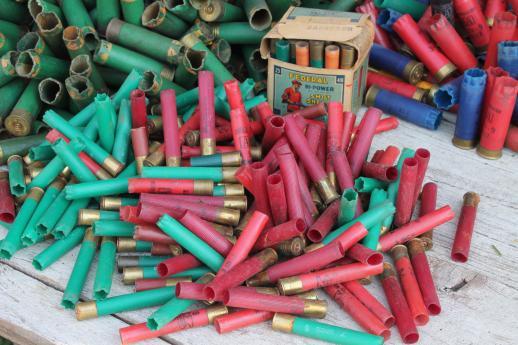 Vintage Empty Shotgun Shells For Western Arts Amp Crafts Or