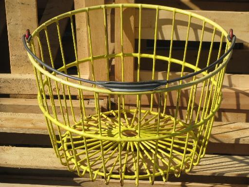egg basket Vintage
