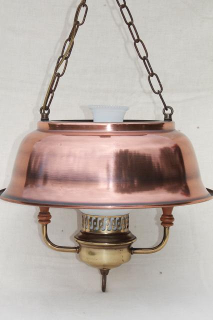 vintage farmhouse kitchen pendant lamp hanging light w antique copper color