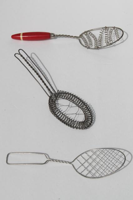 image gallery wire spoon