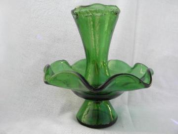 Colored Depression Glass And Retro Glassware