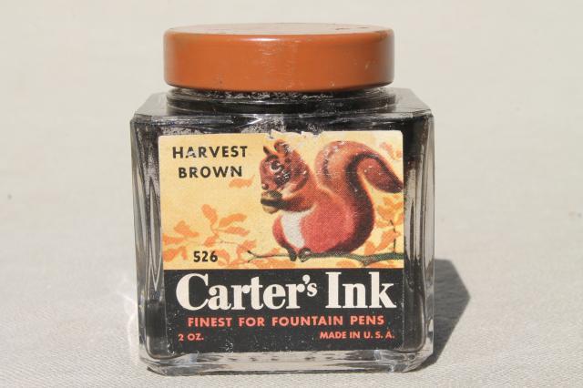 Vintage Ink Bottle 100