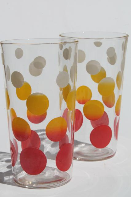 444bd66f92 vintage glass tumblers