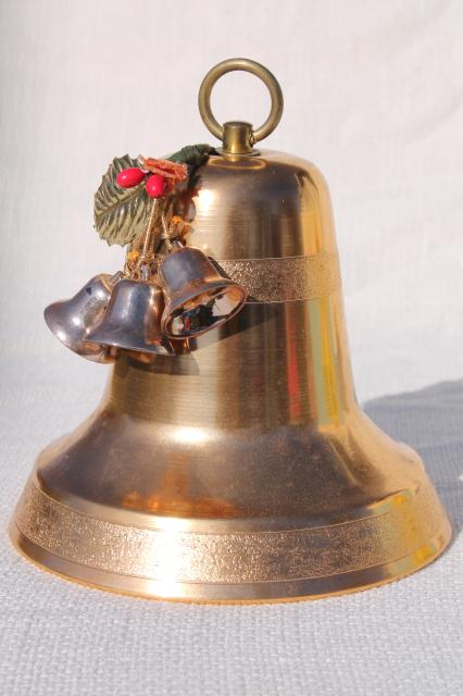 Musical Christmas Bells Decorations Decore