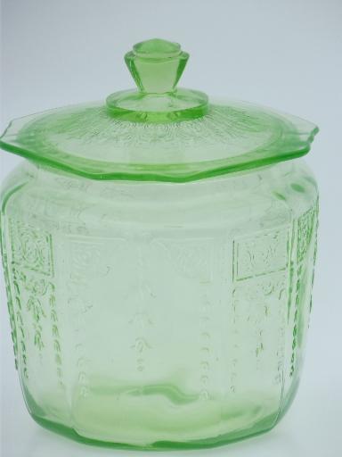 Green Depression Cookie Jar Imagessure