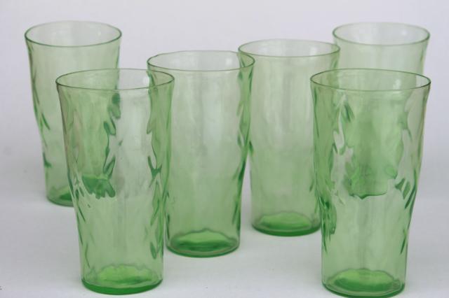 Plastic Sunflower Drinking Glasses