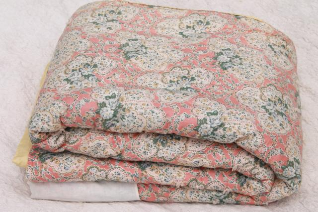 antique & vintage quilts & quilt tops : old fashioned quilted eiderdowns - Adamdwight.com
