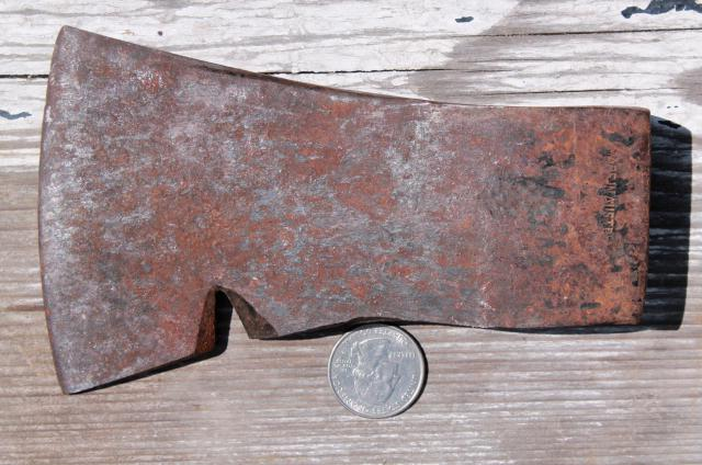vintage hatchet ax head tomahawk style camp axe camping rendezvous Austria