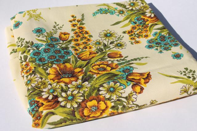 Aqua Home Decor Fabric