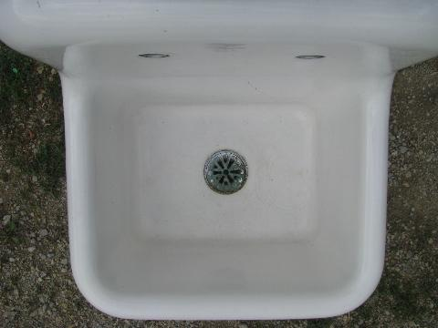 Apron Laundry Sink : vintage industrial apron utility sink, farmhouse laundry sink