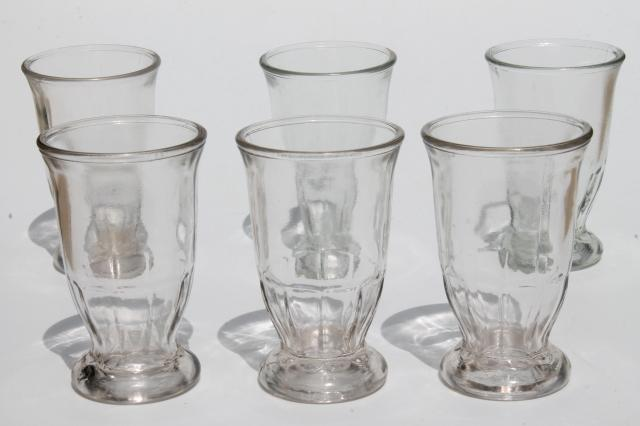 Old Fashioned Jelly Jar Glasses