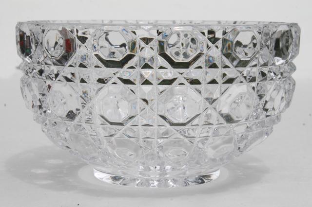 Lead Crystal Bowls Bleikristall On
