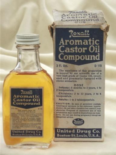 vintage medicine bottles lot, old United Drugs / Rexall pharmacy labels