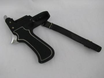 vintage mid-century professional camera pistol grip, Denmark