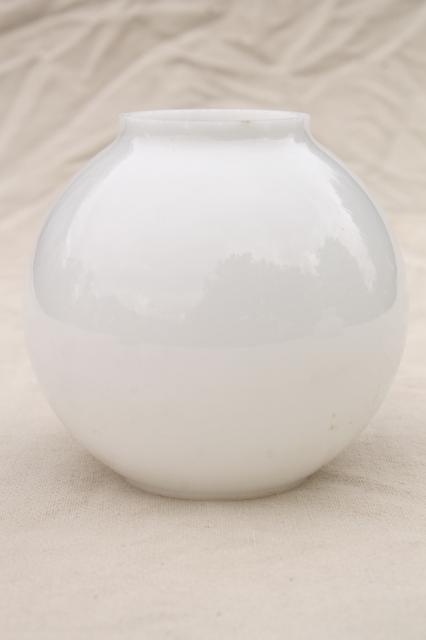 S Glass Round Light Shade