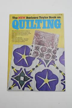 vintage needlework booklet, full size quilt patterns, 30 quilting designs