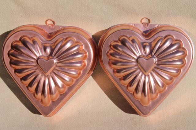 Decorative Copper Molds Kitchen
