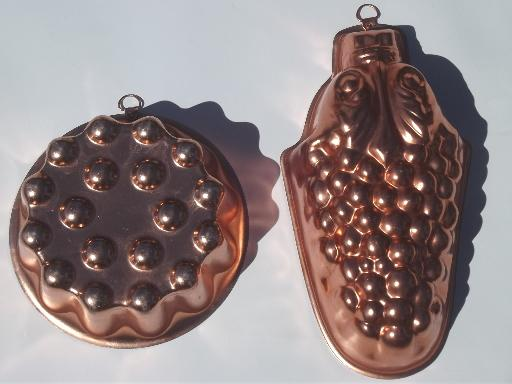 how to make copper molds