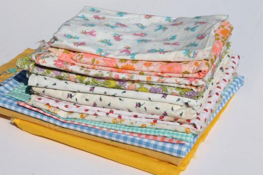 vintage prints & solid colors quilting fabric lot, cute tiny print ... : solid quilting fabric - Adamdwight.com