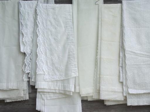 Vintage Sheer Curtains