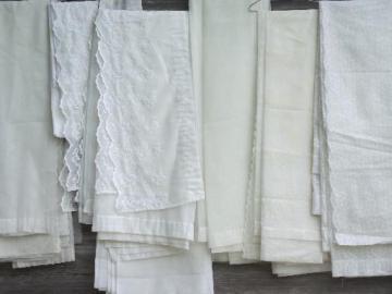 vintage  sheer summer curtains, unsorted estate lot vintage drapes & sheers